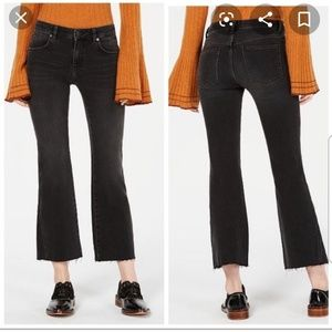 Free People Raw Crop Leg Jeans